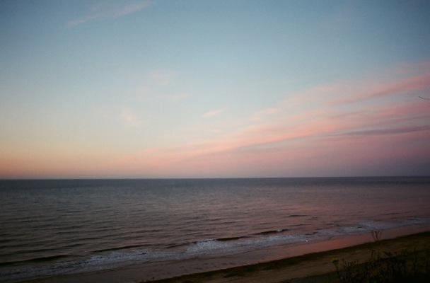 calm spoke the sea